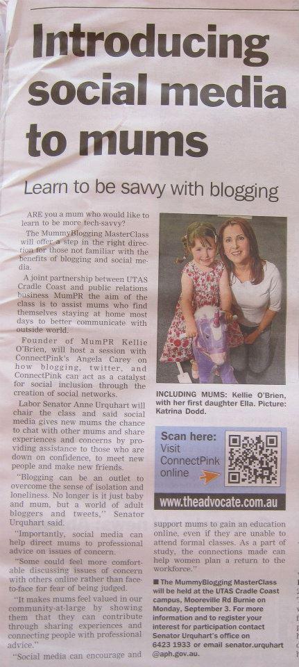 Advocate Newspaper Kellie O'Brien