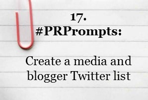 PR Prompt Twitter
