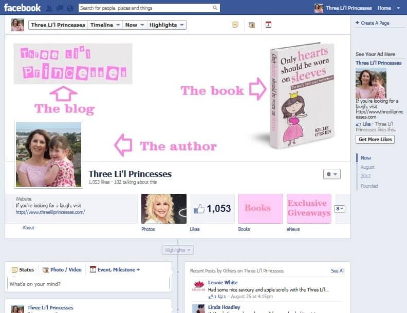 Facebok page