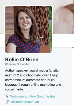 Kellie O'Brien Twitter