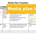 A FREE downloadable media plan template to step up your PR effort