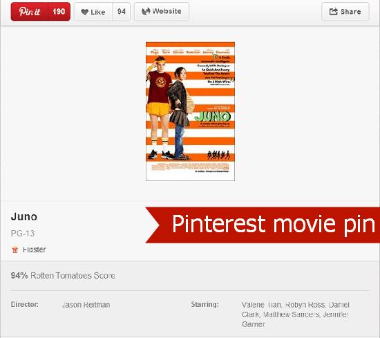 Pinterest Movie Pin