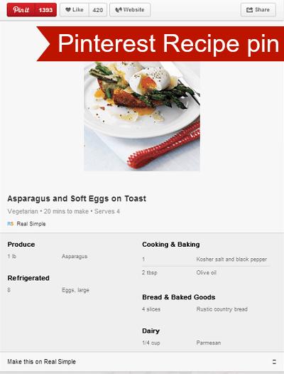 Pinterest Recipe Pin