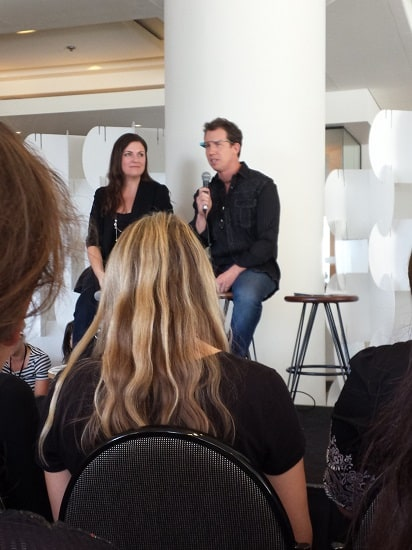 Problogger Amy Porterfield and Trey Ratcliff