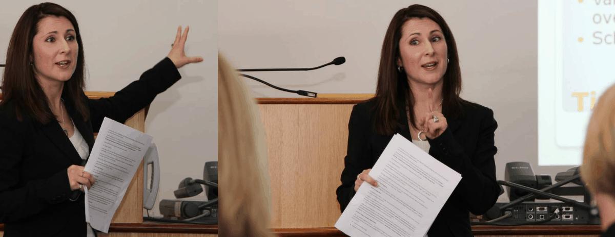 Speaking Kellie O'Brien