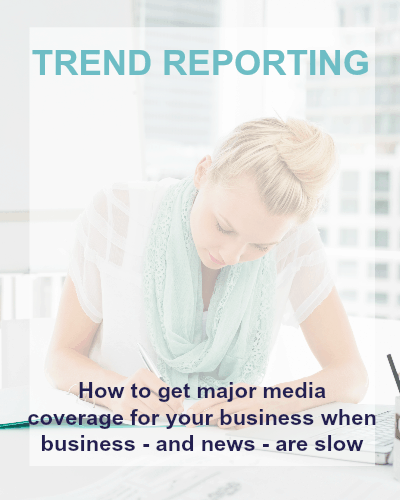 trend reporting public relations