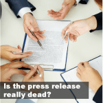 Is the press release really dead?