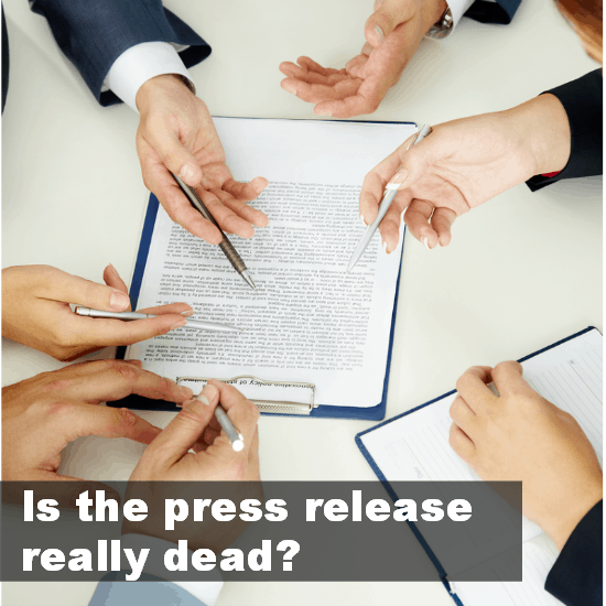 press release dead