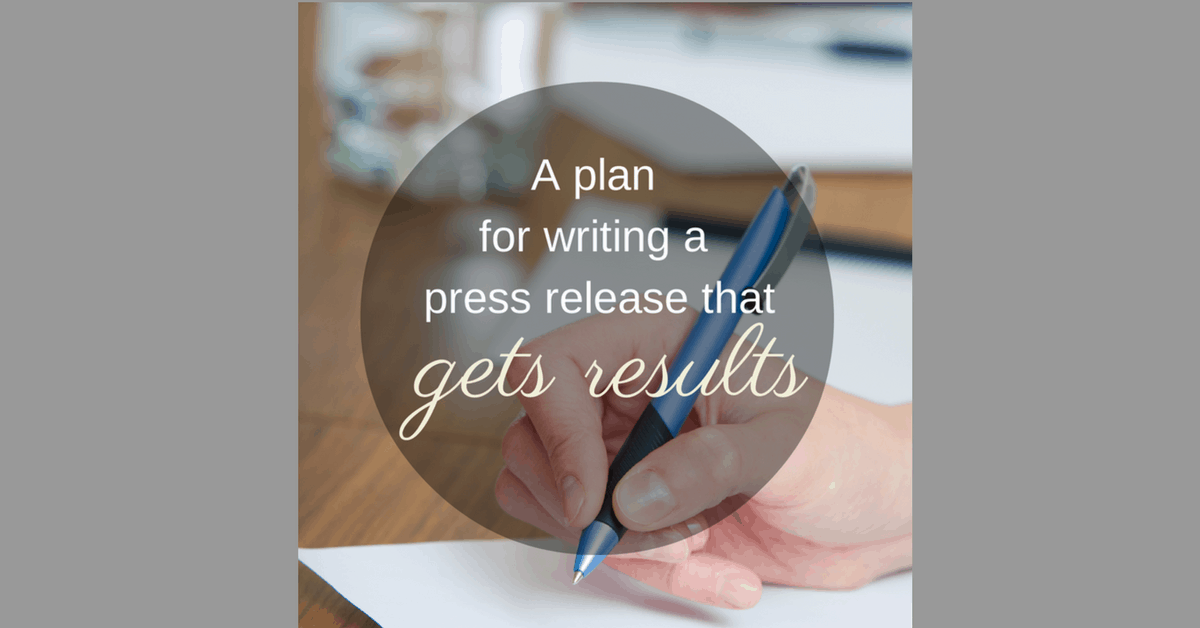 how to write a press release media contact