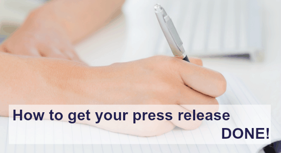 get your press release done