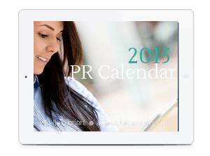 2015 PR News Calendar