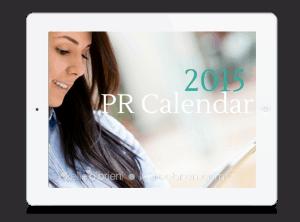 2015 Public Relations News Calendar