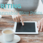 5-point checklist for writing scannable blog posts