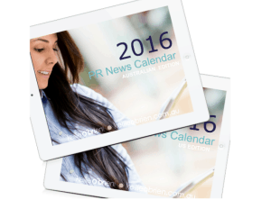 2016 Public Relations Calendar Media