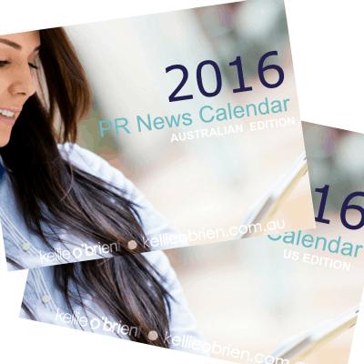 2016 PR News Calendar Promo 400