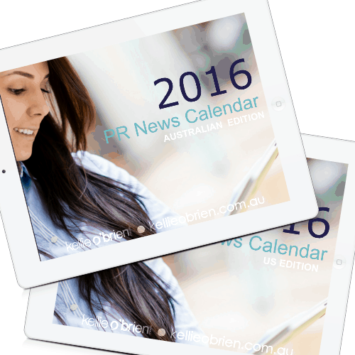 2016 PR News Calendar Shop