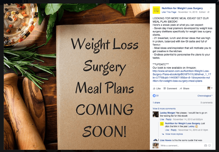 Facebook Post Promotion