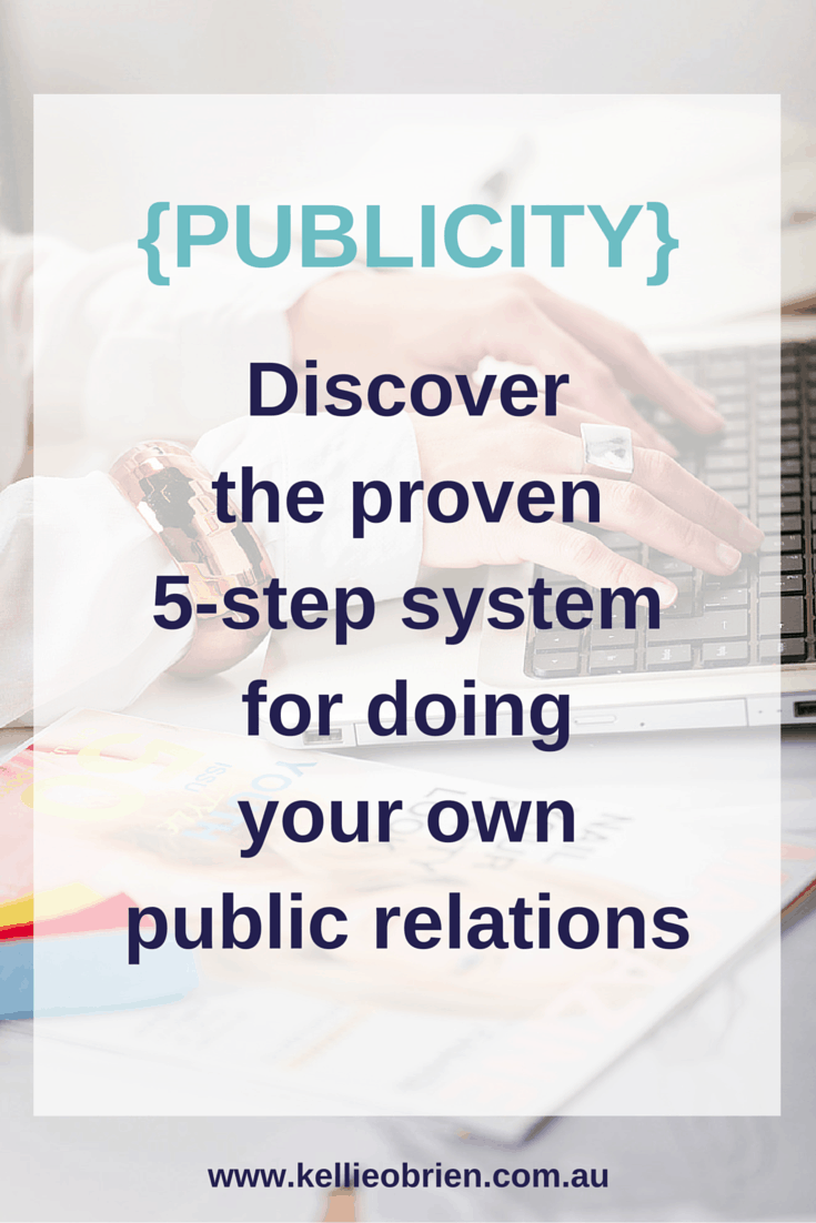 Do your own public relations