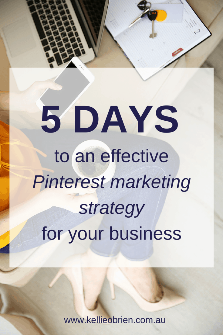 Pinterest marketing strategy for business