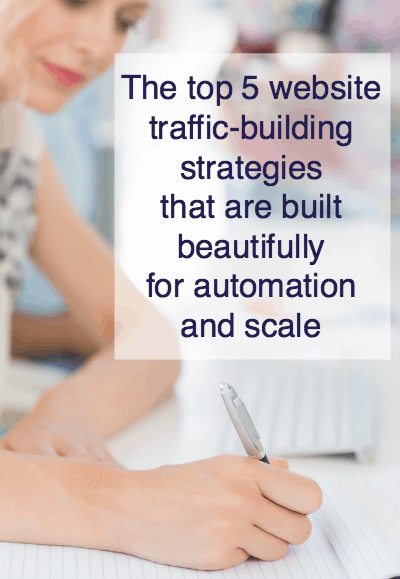 website traffic building strategies
