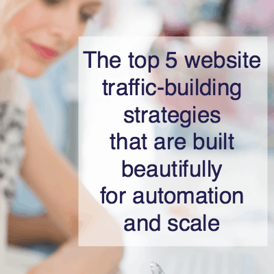 website-traffic-generation strategies