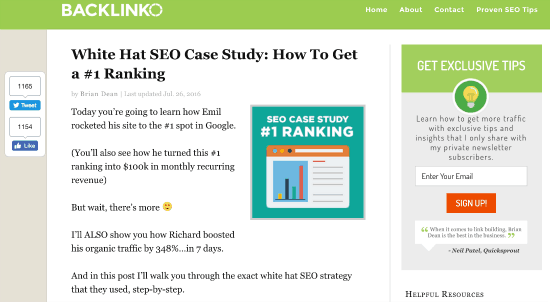 Social Proof Case Study