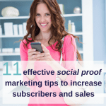 11 effective social proof marketing tips to increase subscribers and sales