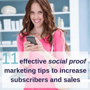 social proof marketing