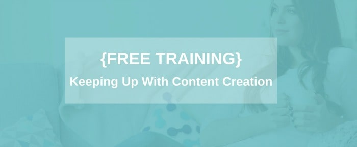 content creation training