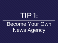 Become own news agency