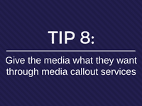 media callout services
