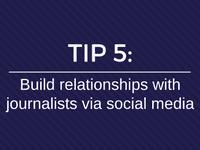 media relations social media