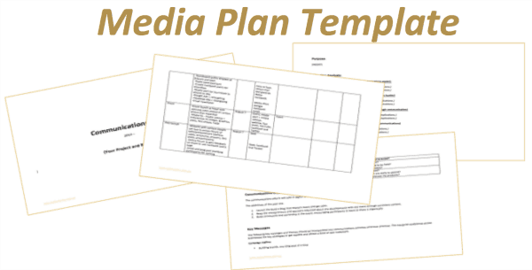 media plan template download