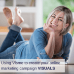 Using the Visme design tool to create your online marketing campaign visuals