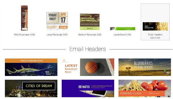 Visme Email Header