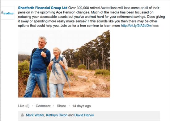 financial advisor storytelling