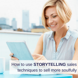 story telling sales techniques